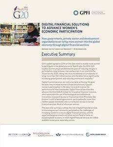 Women's Economic Report (Executive Summary)