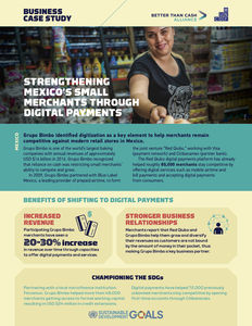 Grupo Bimbo / Visa Inc. ✪ Strengthening Mexico's small merchants through digital payments