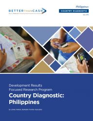 Country Diagnostic - Philippines : Full Case Study