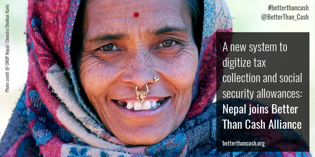In line with strategy to mature into an emerging economy, Nepal joins the Better Than Cash Alliance-2
