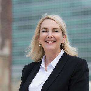Ruth Goodwin-Groen, MD, Better Than Cash Alliance, speaks about the social promise of digital money.