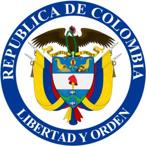 republic of Colombia logo