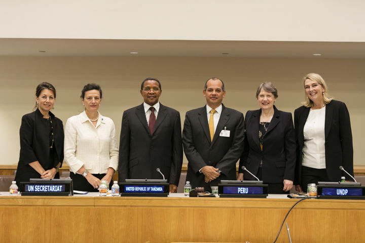 photo of un summit 2015 president of tanzania and ruth