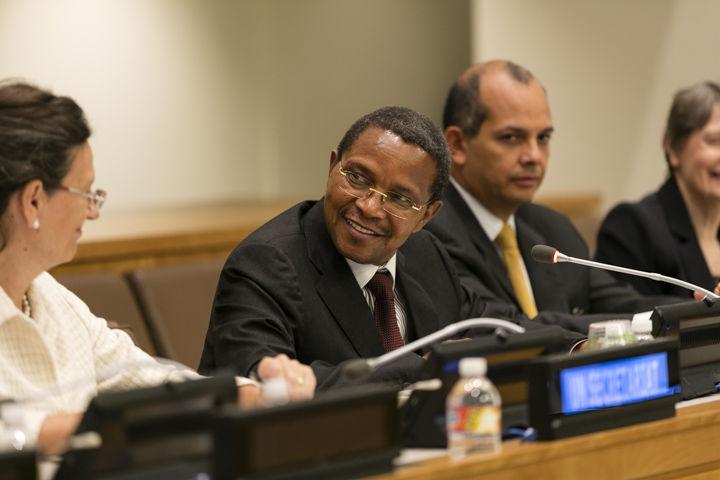 un summit 2015 president of Tanzania photo