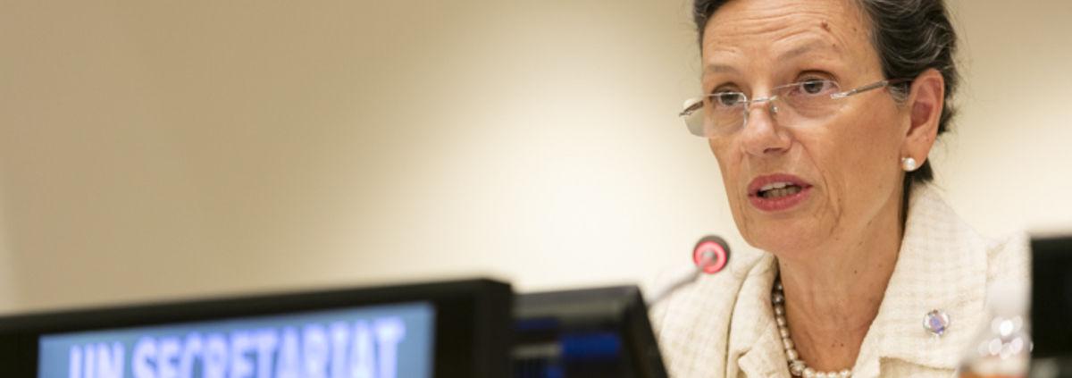 photo of Ms. Bettina Tucci Bartsiotas, UN Assistant Secretary-General and Controller