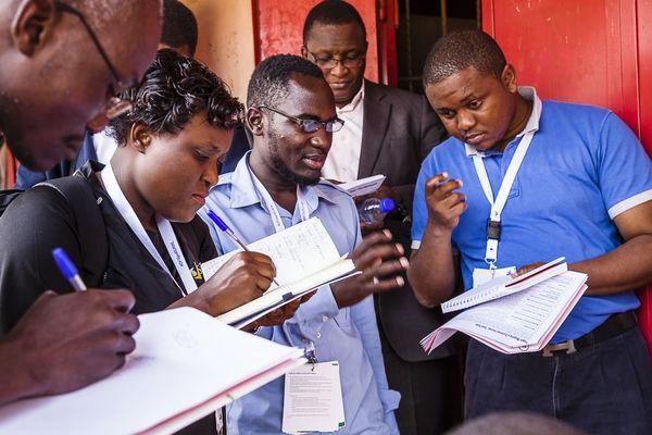 Interviewing Rural Clients Jinja, Uganda