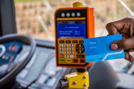 Tap&Go bus card, © Better Than Cash Alliance